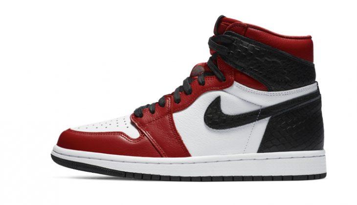 Air Jordan 1 Stain SnakeSkin
