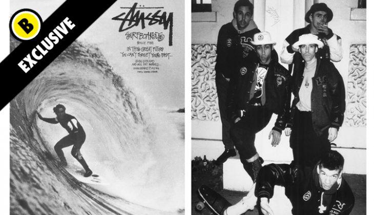 La Historia de Stussy, pioneros del Streetwear!