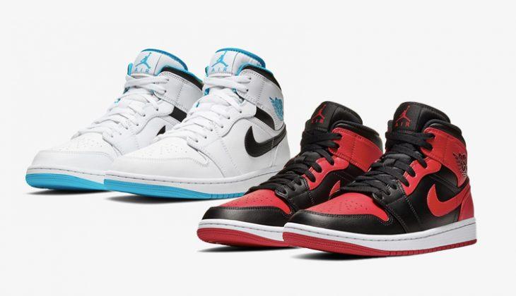 Nuevos colores de Air Jordan 1 Mid!