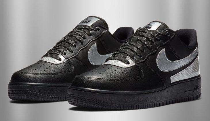 3M x Nike Air Force 1 Low, material de primera.