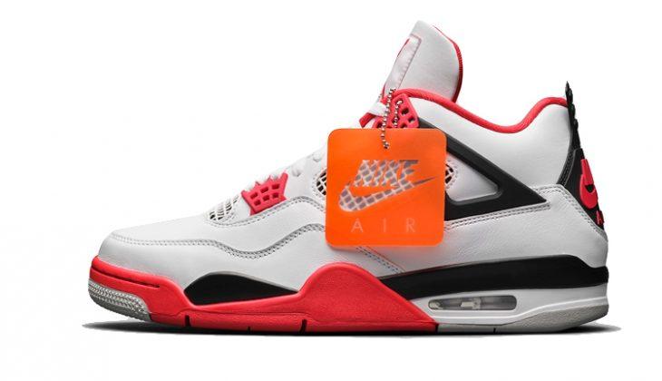 Air Jordan 4 Og Fire Red
