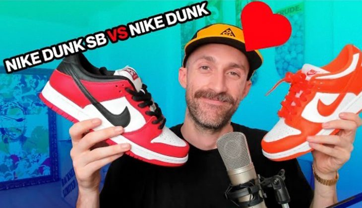 diferencias nike sb dunk vs nike dunk
