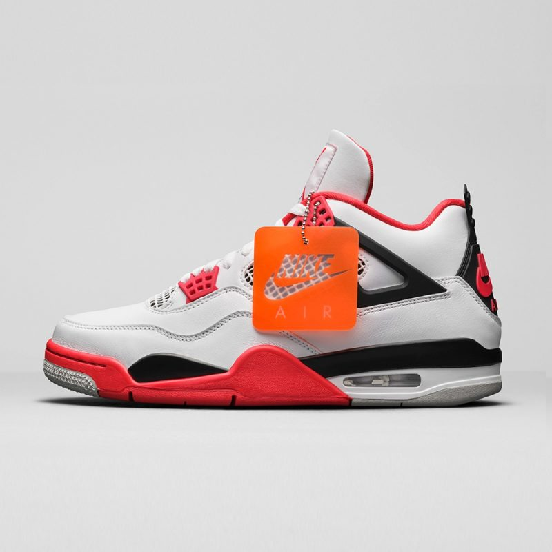 Air Jordan 4 Og Fire Red