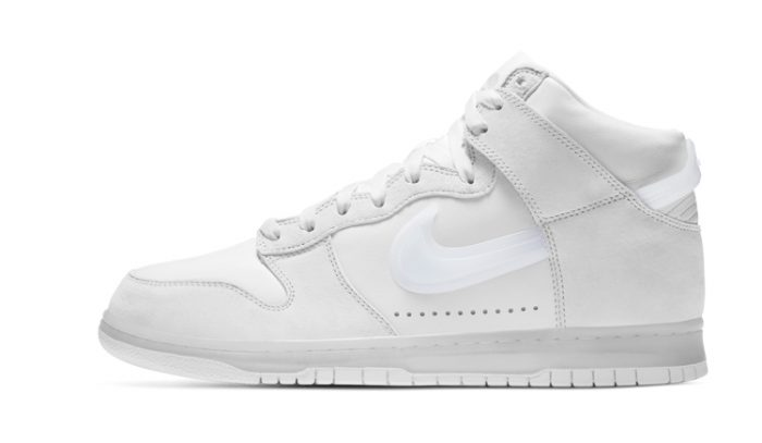 Slam Jam x Nike Dunk Clear White