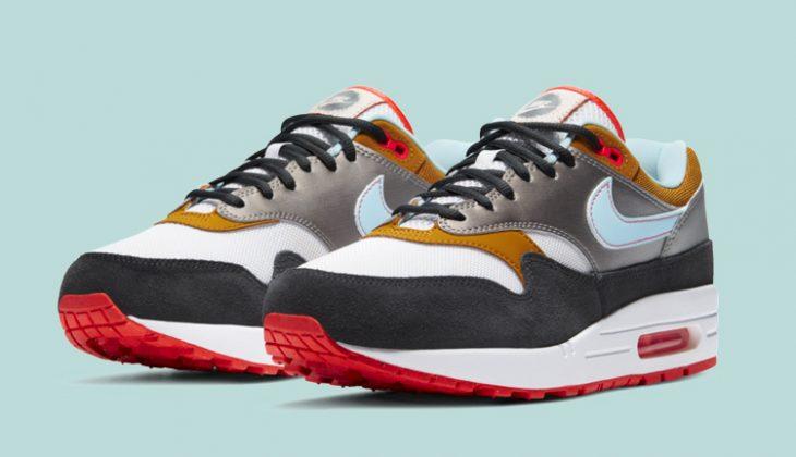 Estas Nuevas Nike Air Max 1 están inspiradas en los tags de graffiteros?