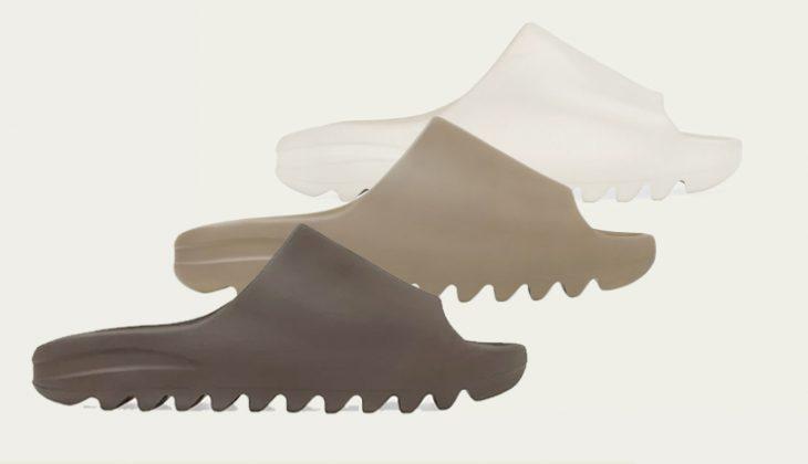 Nuevos colores de adidas Yeezy Slide: Bone, Core, Soot!
