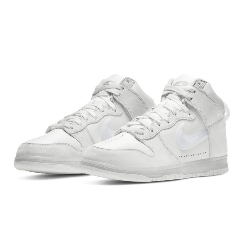 Slam Jam x Nike Dunk Clear White
