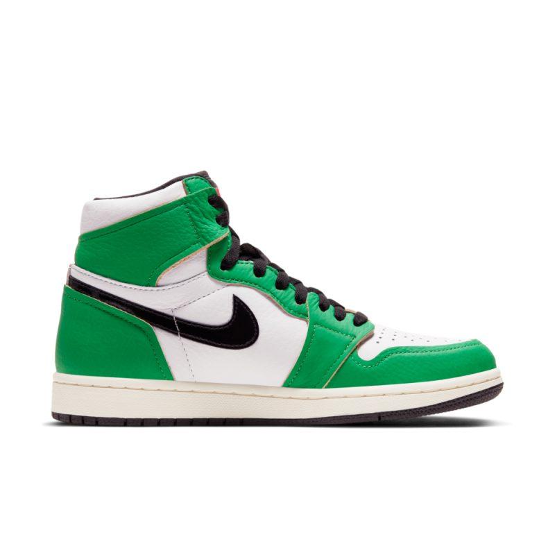 Air Jordan 1 Lucky Green