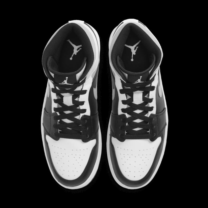 Air Jordan 1 Mid White Shadow