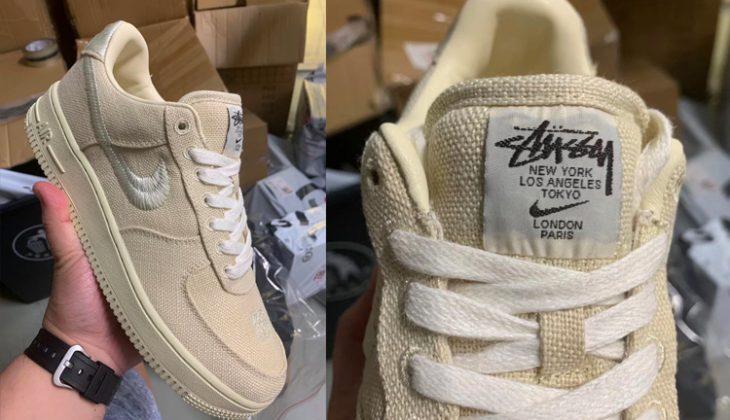 Stussy x Nike Air Force 1 Low, prepárate para un nuevo pepino…