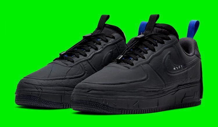 Nike Air Force 1 Experimental Black