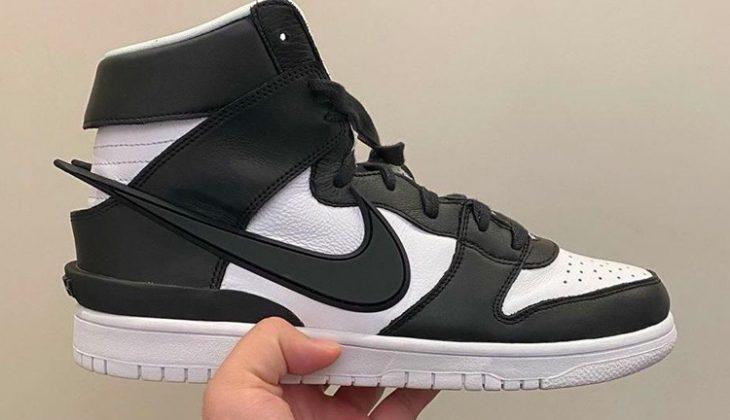 Ambush x Nike Dunk High, ahora en negras y blancas