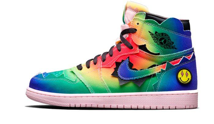J Balvin x Air Jordan 1 Colores y Vibras