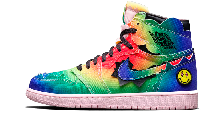 J Balvin x Air Jordan 1 Colores y Vibras
