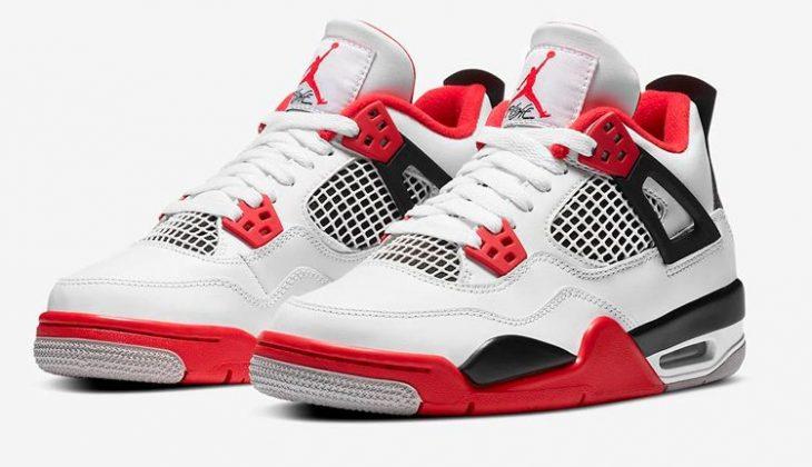 Air Jordan 4 Fire Red, material de primera.