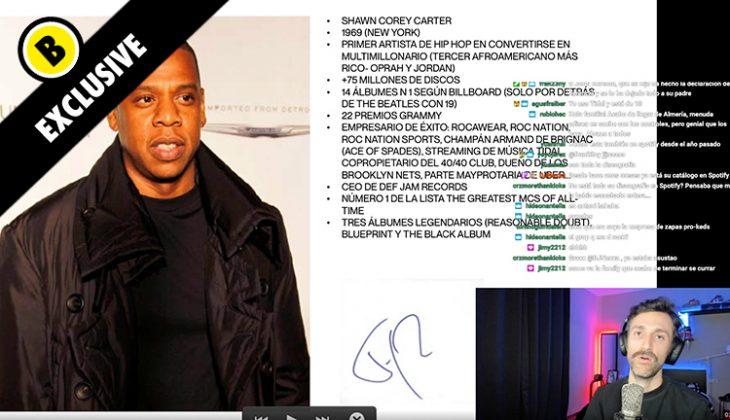 la vida de Jay Z