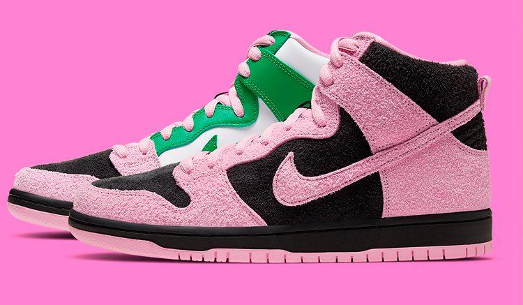 Nike SB Dunk High Invert Celtics