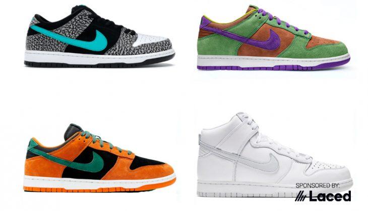 Nike Dunk, la zapatilla del año 2020.