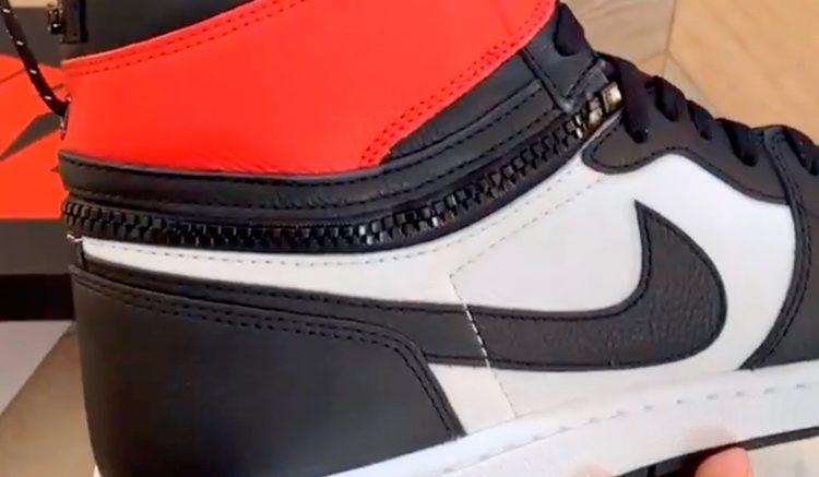 Air Jordan 1 High Switch Black Toe