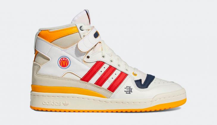 ¿Qué os parece la nueva Adidas Forum '84 Hi McDonald's?