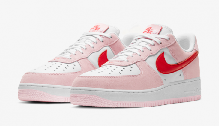 Las Nike Air Force 1 Valentine´s Day son puro amor