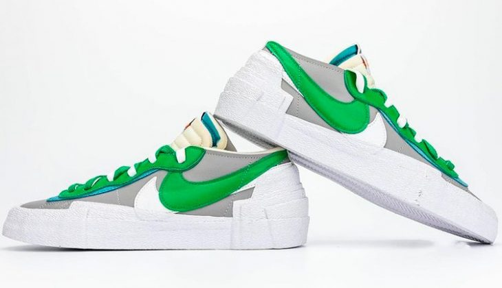 Sacai Nike Blazer Low Classic Green, un grail perfecto para primavera