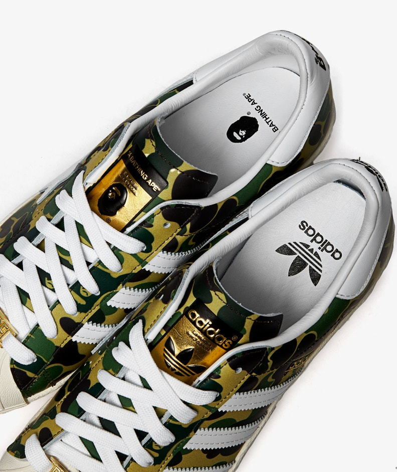 adidas x BAPE Superstar 80s