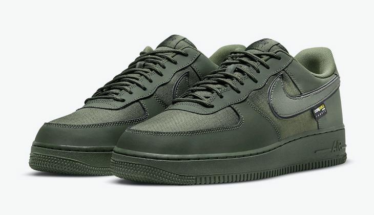 Las Nike Air Force 1 Cordura Cargo Khaki son las sneakers impermeables definitivas…