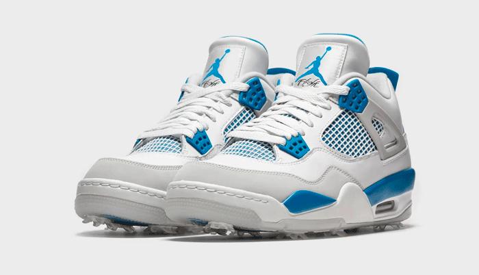 Nike Air Jordan 4 Golf Military Blue: como hacer un hoyo en uno con unas Jordan…