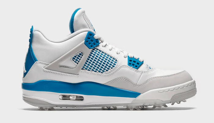 Nike Air Jordan 4 Golf Military Blue