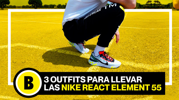 Backseries Youtube: Cómo llevar las Nike React Element 55!
