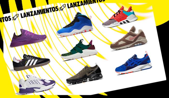 Los 9 mejores lanzamientos de sneakers de la semana!