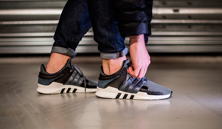 Mens Adidas EQT Equipment Support ADV Core Black Utility Size 9