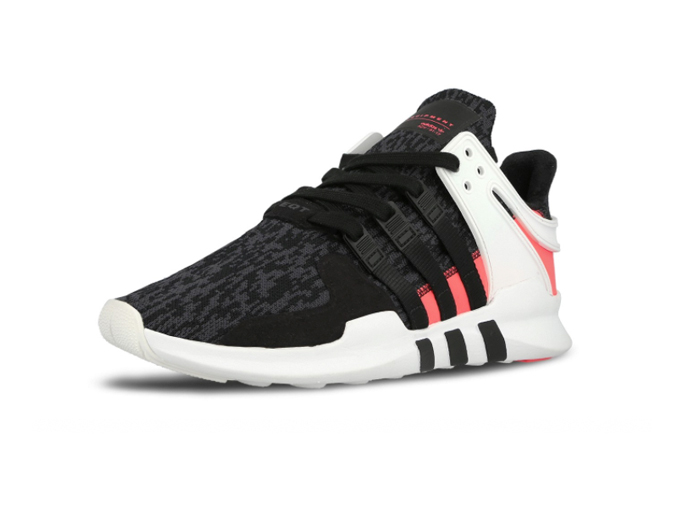 "Adidas EQT Support ADV ""Dark Grey Turbo Red"""