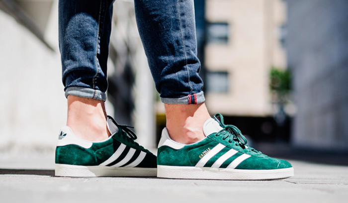 Adidas Gazelle Collegiate Green Vintage White