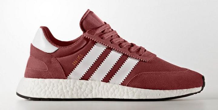 Bienvenidas Adidas Iniki Runner Boost burgundy