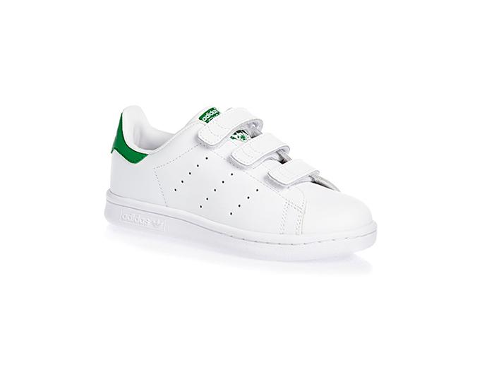 Stan Smith Velcro «White / Green»