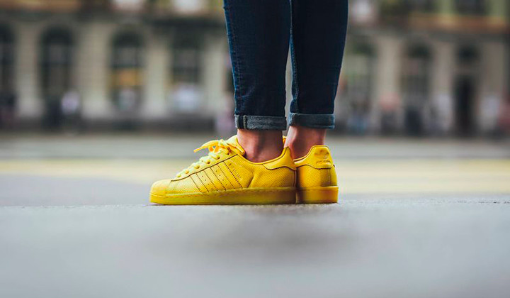 Adidas Superstar Adicolor Yellow