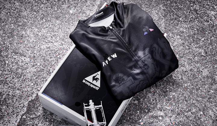 Afew x Le Coq Sportif x Tour De France R1000 apparel