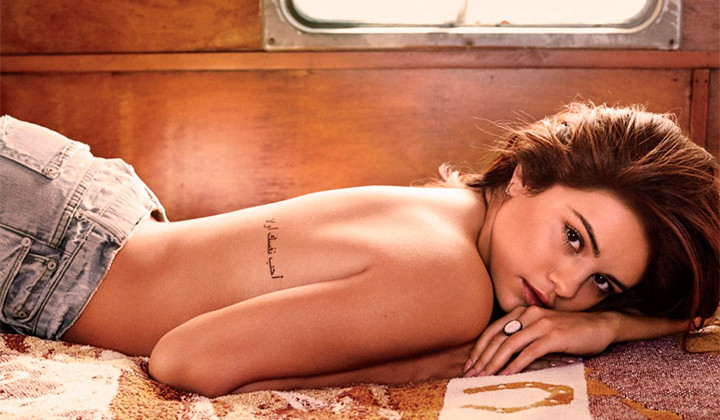 Arde Selena Gomez para la Revista GQ