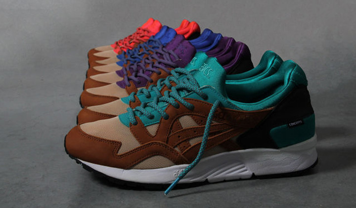 "Asics x Concepts ""Mix and Match"""