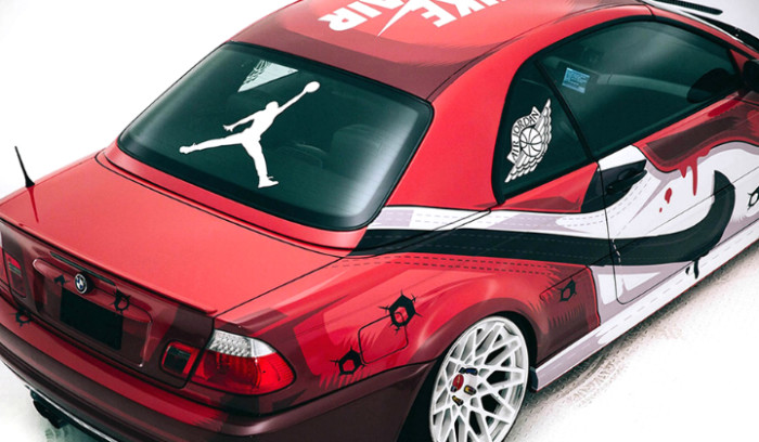 "BMW M3 Custom inspirado en las Air Jordan 1 ""Chicago"""