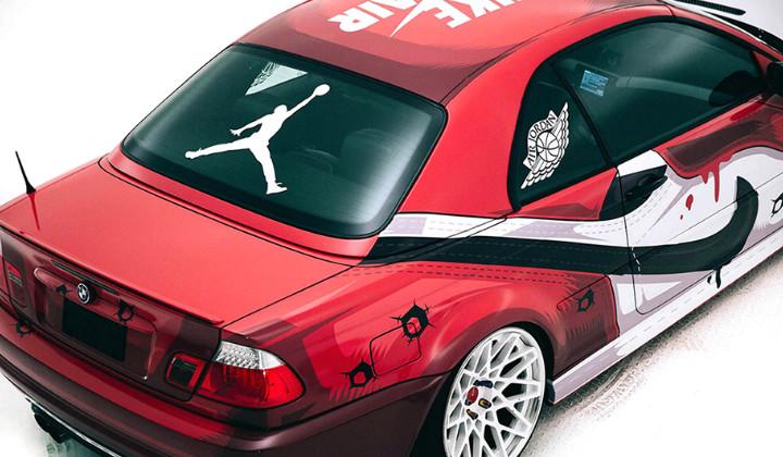 "BMW M3 Custom inspirado en las Air Jordan 1 ""Chicago"""