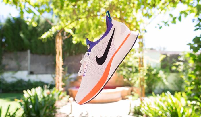 Nike Zoom Mariah Racer Flyknit White/Hyper Grape