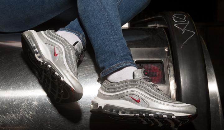 air max 97 silver mujer