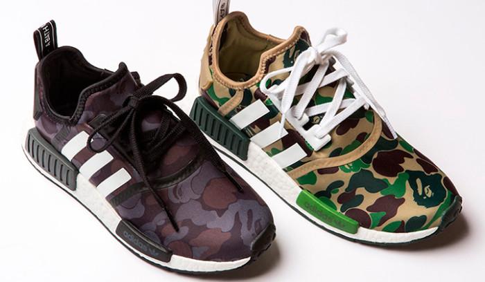 BAPE x Adidas NMD R1