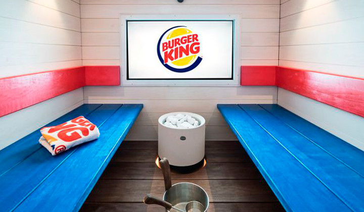 Burger King abre un Spa en uno de sus restaurantes
