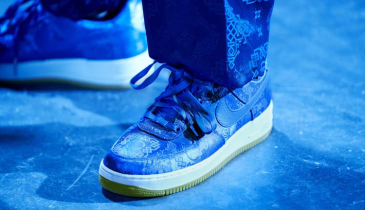 ¿Dónde comprar las CLOT x Nike Air Force 1 Blue Silk?