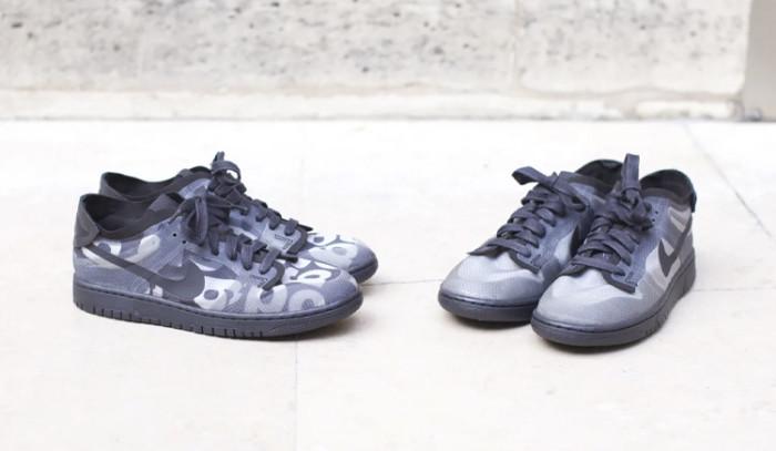 Se viene arriba con estas COMME des Garçons x Nike Dunk Low