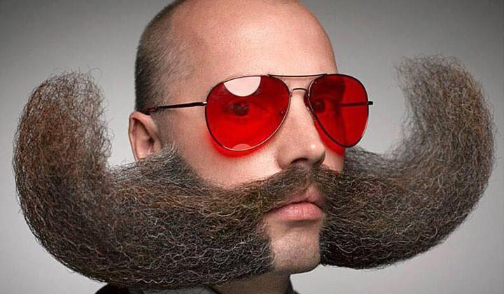 Vas a flipar con el Campeonato del Mundo de barbas y bigotes